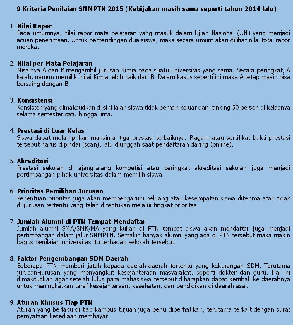 9-kriteria-snmptn2015