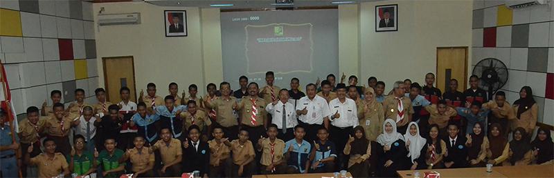 Pengukuhan Kontingen LKS Jakarta Utara II