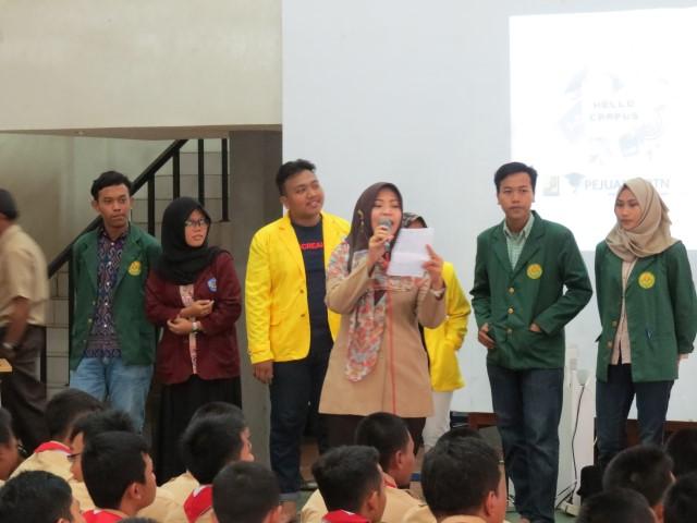 Seminar Motivasi Istitute STIAMI Di SMKN 4 Jakarta